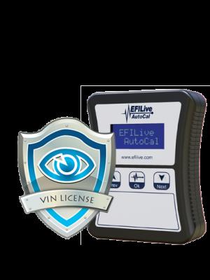 AutoCal VIN License